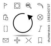 refresh  arrow  circle icon....