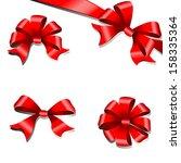 bows design | Shutterstock .eps vector #158335364