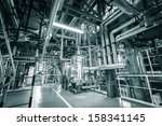 modern thermal power plant | Shutterstock . vector #158341145