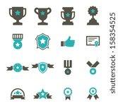 award icon   color | Shutterstock .eps vector #158354525