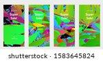 abstract social media template... | Shutterstock .eps vector #1583645824