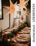 Christmas Table Setting For...