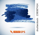 vector watercolor ink spot.... | Shutterstock .eps vector #158387414