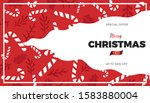 christmas or new year... | Shutterstock .eps vector #1583880004
