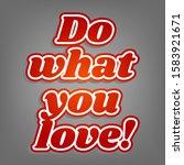 positive inspiring textured... | Shutterstock .eps vector #1583921671