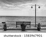 Bench With Sea View  Corfu ...