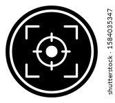 focus icon design. focus lens... | Shutterstock .eps vector #1584035347