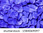 Background Texture Of A Blue...