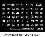 Camera Settings Symbols
