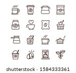 coffee fresh product maker...   Shutterstock .eps vector #1584333361