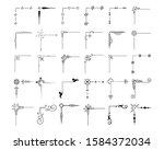 big hand drawn vintage text...   Shutterstock .eps vector #1584372034