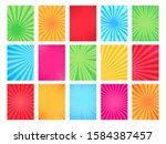 comic book background. cartoon... | Shutterstock .eps vector #1584387457
