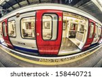 mind the gap in london... | Shutterstock . vector #158440721