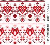 scandinavian christmas folk art ...