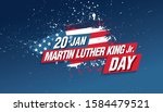 martin luther king day banner... | Shutterstock .eps vector #1584479521