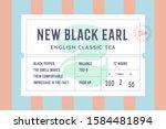 vintage minimal label. set of... | Shutterstock . vector #1584481894
