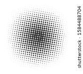 black halftone dots background. ... | Shutterstock .eps vector #1584488704