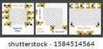 multipurpose social media kit ... | Shutterstock .eps vector #1584514564