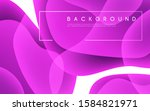 colorful abstract minimalist... | Shutterstock .eps vector #1584821971