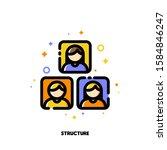 company organizational...   Shutterstock .eps vector #1584846247