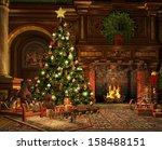 3d computer graphics of a... | Shutterstock . vector #158488151