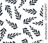 elegant seamless floral pattern ... | Shutterstock .eps vector #1584918397