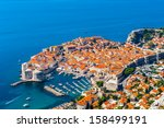 Aerial View Dubrovnik  A...