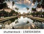 Casa De Balboa  Palm Trees  And ...