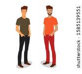 illustration vector graphic of... | Shutterstock .eps vector #1585139551