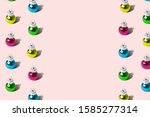 colorful baubles christmas... | Shutterstock . vector #1585277314