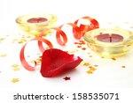 burning candles | Shutterstock . vector #158535071