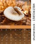 October 2020 Calendar With A...