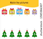 matching children educational...   Shutterstock .eps vector #1585386307