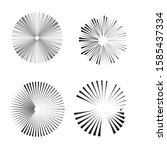 radial speed lines in circle...   Shutterstock .eps vector #1585437334