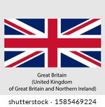 national flag of great britain  ... | Shutterstock .eps vector #1585469224