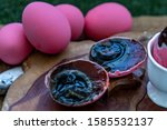 Pink Century Eggs  Pidan Eggs ...