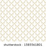 geometric abstract pattern... | Shutterstock .eps vector #1585561801
