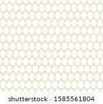 geometric abstract pattern... | Shutterstock .eps vector #1585561804