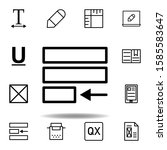 justify text icon. can be used...