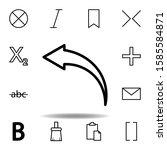 undo clear  arrow  back icon....