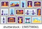 World Cities Post Stamps....