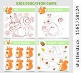 Cartoon Squirrel Kids Games....