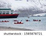 Kayaking At Magdalenafjorden...