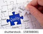 quality control | Shutterstock . vector #158588081