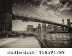 Manhattan Skyline With East...