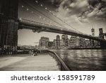 Manhattan Skyline With East...