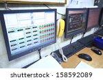 tver   jun 05  computer remote... | Shutterstock . vector #158592089