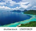 malaysia sabah borneo scenic... | Shutterstock . vector #158593829
