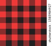 tartan seamless red traditional ... | Shutterstock .eps vector #1585984927