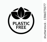 Free Plastic Icon - No BHA  Vector, Sign and Symbol for Design, Presentation, Website or Apps Elements.